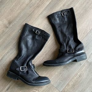 FRYE Veronica Slouch Kids Riding Boots Size 3